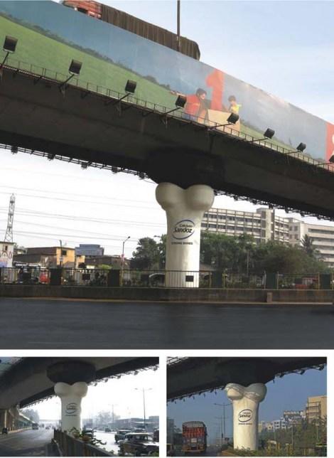 bone flyover Партизаны из индии укрепляют мосты
