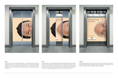 folliderm Средство от облысения, лифтовый ambient