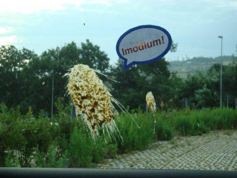imodium И в партизанском маркетинге не без какашек