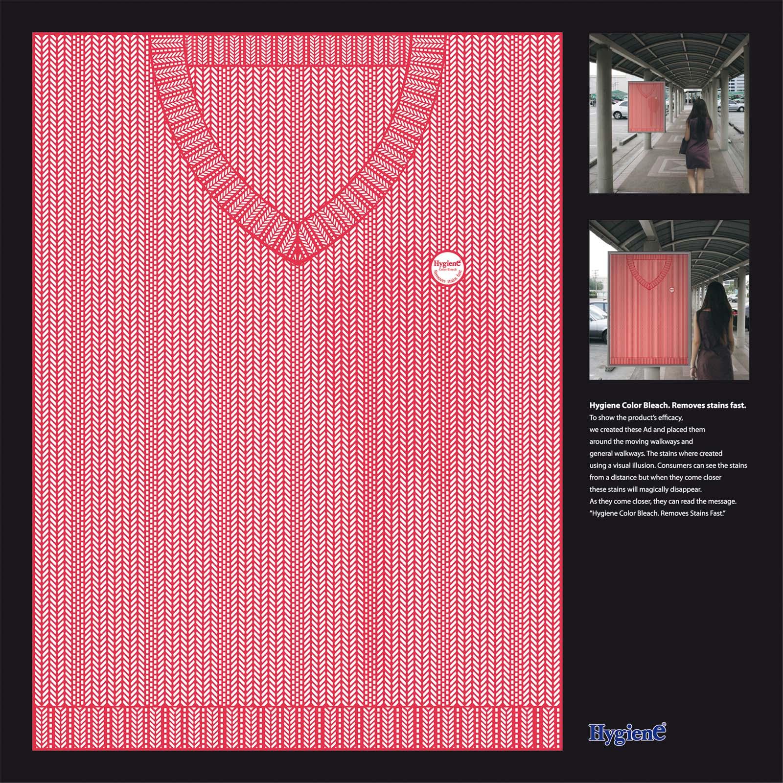 Hygiene Color Bleach Иллюзорные пятна