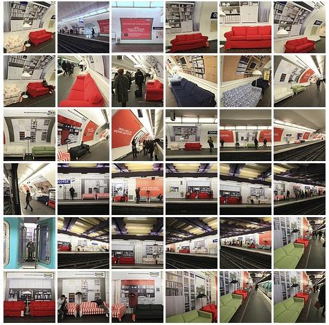ikea2 Немного уюта в парижском метрополитене